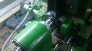 Ремонт шатуна двигателя ЯМЗ 238/236 - восстановление втулки под палец
