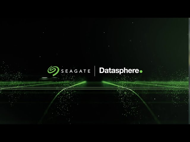 Seagate Datasphere Virtual Event 2020