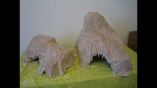 I show you how to make mountains with cheap and recycled materials. You can use them, for example, in a Nativity Scene. This is an old video (2007) that I ...