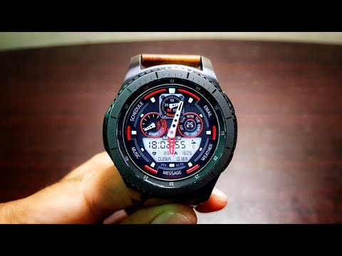 Samsung Gear S3 Frontier Tizen OS 3.0.0.1 update!! 10 new features!