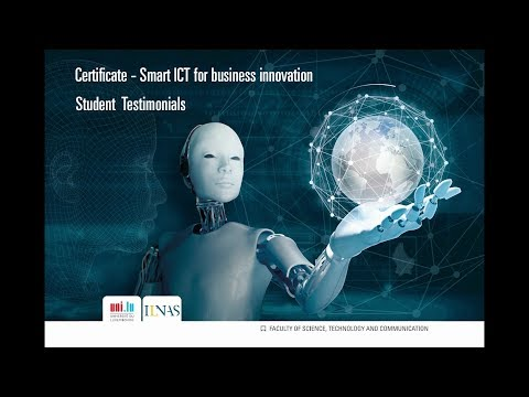 Certificate - Smart ICT for business innovation