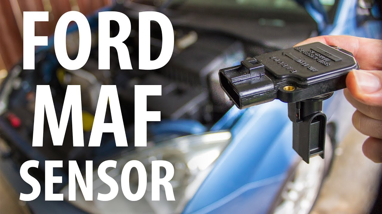 how to clean replace ford maf sensor focus mk1  [ 1280 x 720 Pixel ]