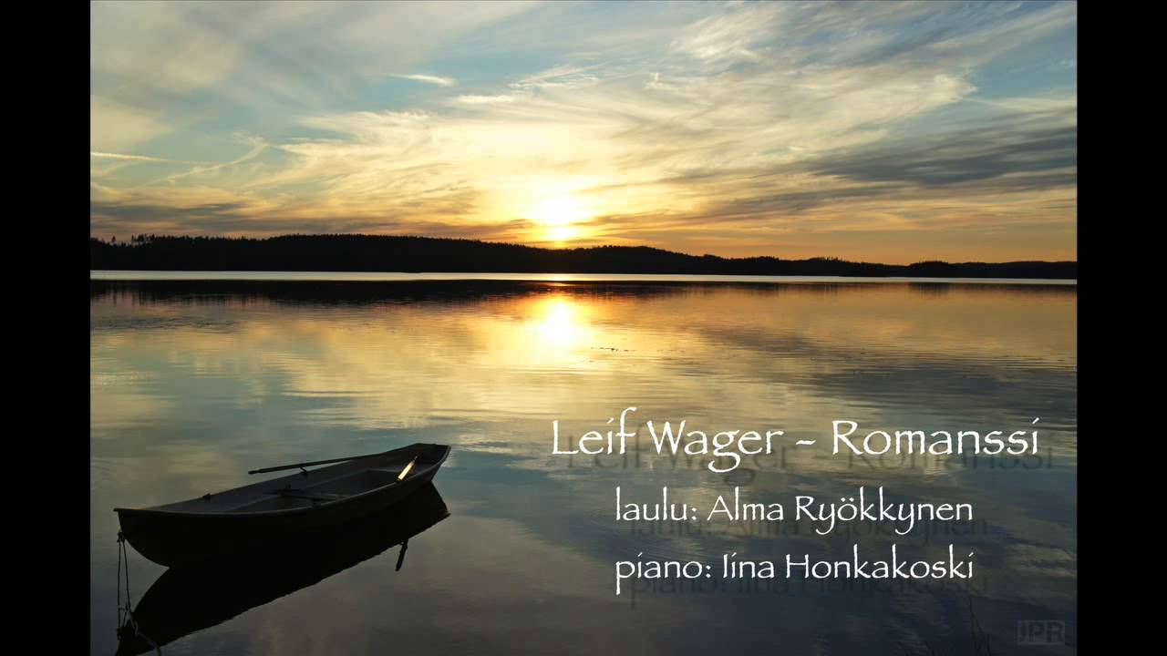 Romanssi Leif Wager