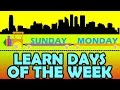 Learn Days of the Week with KidRhyme Train
