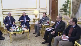 الفريق محمود حجازى يلتقى المشير خليفة حفتر