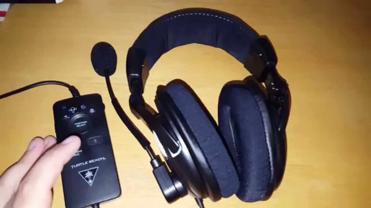 turtle beach ear force px24 unboxing test review youtube. Black Bedroom Furniture Sets. Home Design Ideas