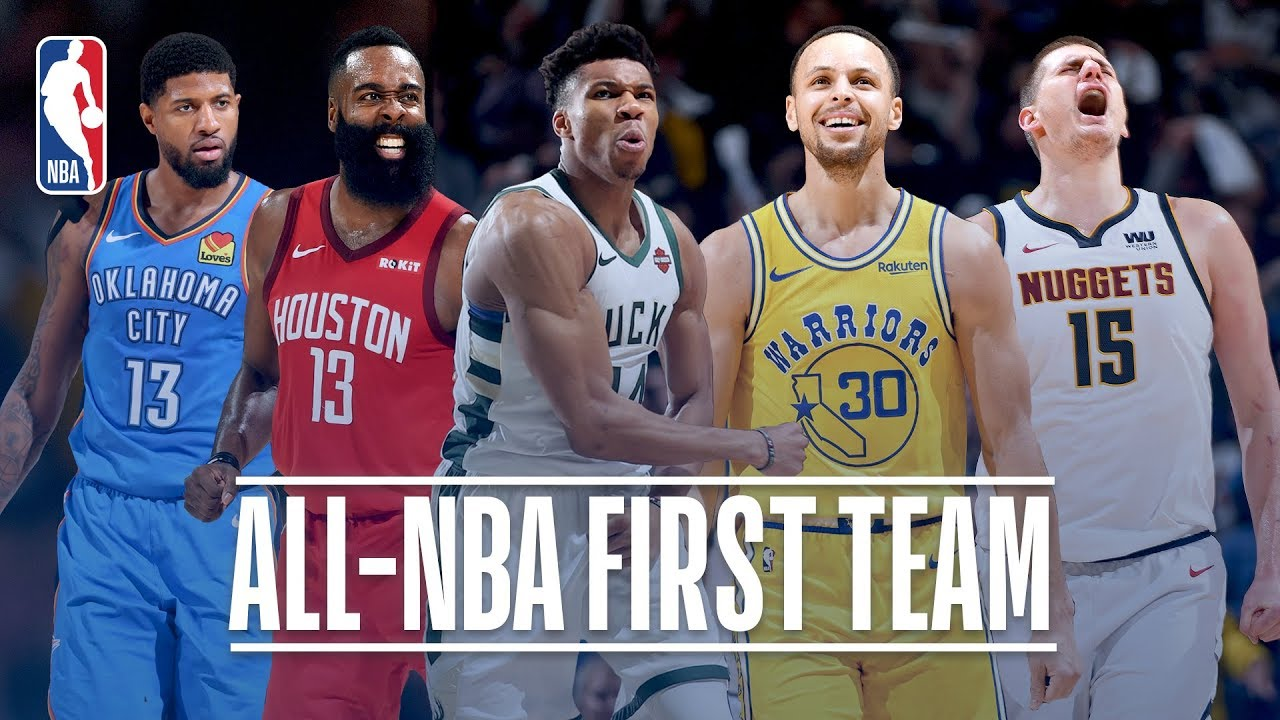 The Best Of The 2018 19 Nba All Nba First Team Youtube