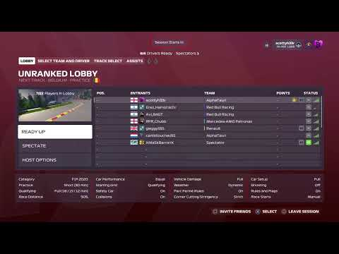 F1 2020 Rpr gp1 Belgium