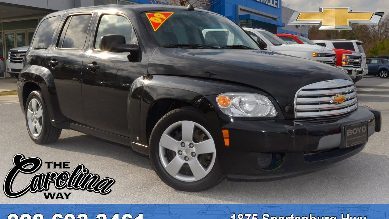A17163 2009 Chevrolet Hhr Black