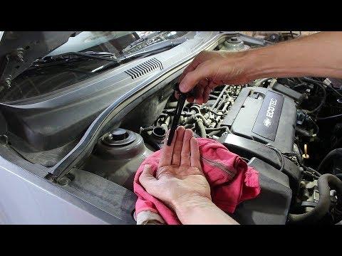 Замена масла в ГУР на Chevrolet Cruze 1,8 Шевроле Круз 2015 года