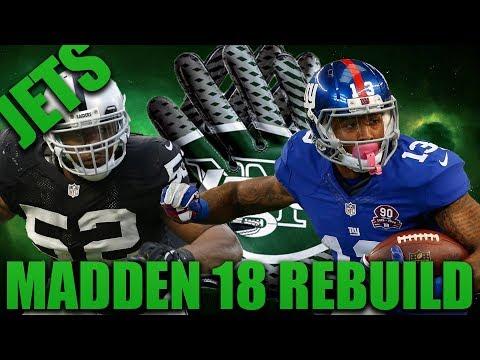 Fantasy Draft Rebuild Worst Pick Challenge! | Madden 18 Franchise New York Jets Rebuild!