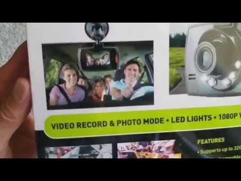 Unboxing New itek by SoundLogic SLIMLINE DASH CAM 1080P 2016