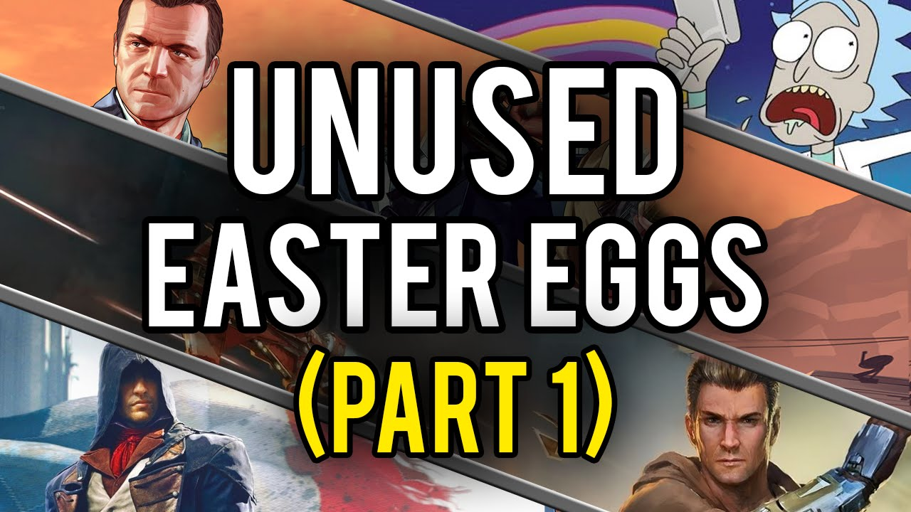 Best Unused Video Game Easter Eggs and Secrets - YouTube