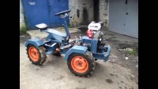 Самодельный трактор переломка 6.5л. Описание. Конструкция. Homemade tractor 6.5 L. Design.