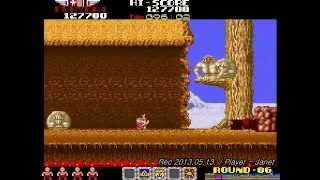 RYGAR / ARGUS NO SENSHI - 1CC (SPEED RUN PLAY - TECMO CLASSIC ARCADE GAME)