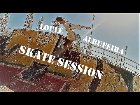 Albufeira-Loulé Skatepark Session