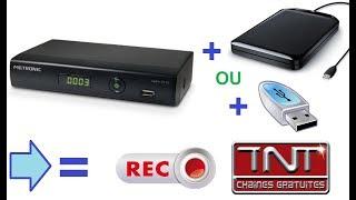Comment enregistrer ses programmes TV sur Disque Dur ou Clé USB.