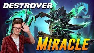 Miracle Outworld Devourer DESTROYER Dota 2
