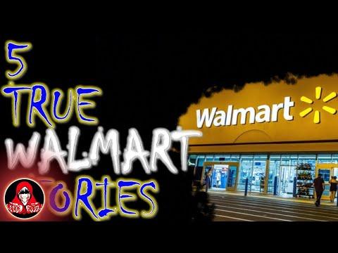 5 TRUE Walmart Scary Stories