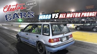 Wago Takes On ALL MOTOR PHONG! (Side By Side Personal Bests)