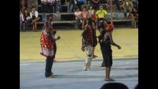 NORSU Kenyan Students dancing