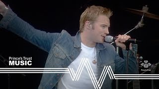 Ronan Keating performing If You Love Me in front of more than 10000...