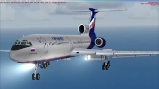 посадка не по плану FSX TU-154 URSS-Сочи в ручную с повтором с вышки(посадка не по плану FSX TU-154 URSS-Сочи в ручную с повтором с вышки ..., 2016-03-24T13:50:11.000Z)