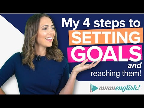 How To Set English Goals [& actually reach them!]