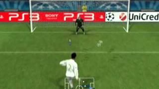 PES 2012 Wii Gameplay (UEFA Champions League)