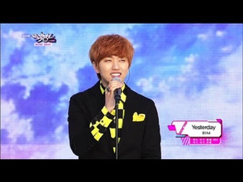 B1A4 - Yesterday (2013.05.25) [Music Bank w/ Eng Lyrics]