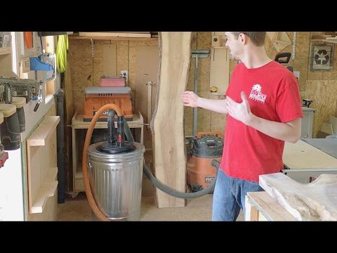 DIY Dust Separator Under $50 - Woodworking