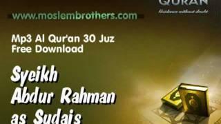 Gambar cover Mp3 Quran 30 juz  Syeikh Abdur-Rahman as-Sudais