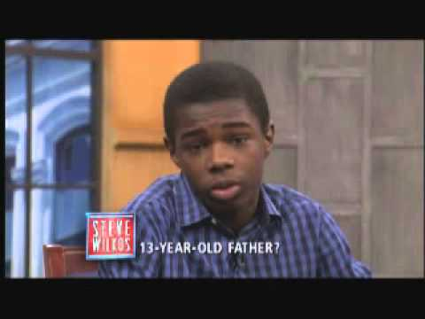 13-Year-Old Father? (The Steve Wilkos Show)