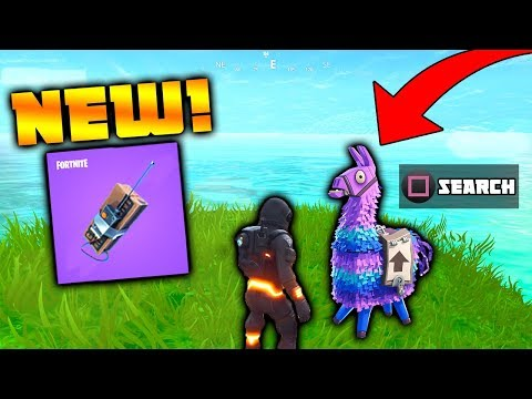 *NEW UPDATE* NEW 'REMOTE EXPLOSIVES' & SUPPLY LLAMA'S! (Fortnite Battle Royale)