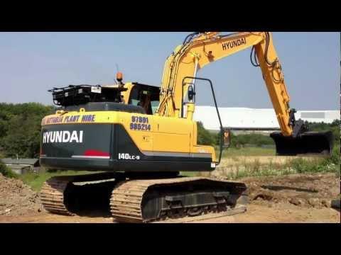 Video Pásové rypadlo HX 140LC