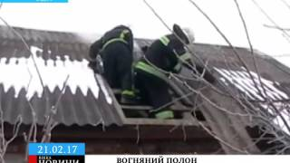 У пожежі на Черкащині ледь не згинула домашня худоба