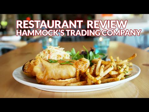 Restaurant Review - Hammock's Trading Company, Seafood | Atl