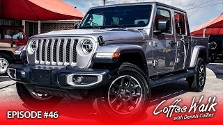 Coffee Walk Ep.46: 2020 JEEP GLADIATOR + HELLWAGON UPDATE