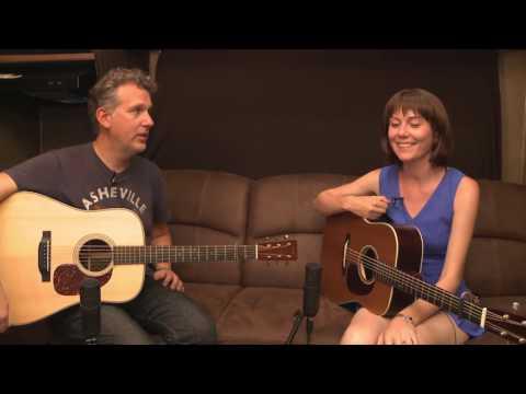 Bryan Sutton Interviews Molly Tuttle at RockyGrass 2016