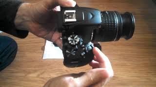 Nikon D3500. Первая настройка из коробки. Первое фото. Первое видео.