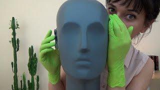 Binaural ASMR I Like Your Ears & Polish Whisper, Latex Gloves