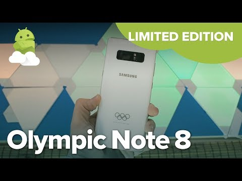 Galaxy Note 8: Olympic Limited Edition for 2018 Pyeongchang Winter Games!