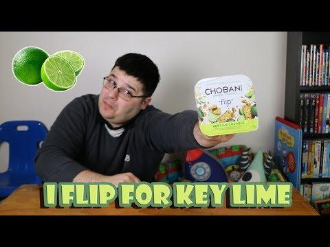 Chobani Greek Yogurt Flip Key Lime Crumble Taste Test