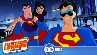 Justice League Action | Plastic Man of Steel | DC Kids