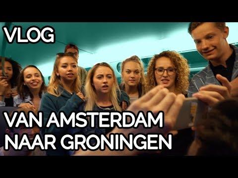 VAN AMSTERDAM NAAR GRONINGEN - Vlog Geronimo - Lucia Marthas