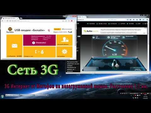 3G от Мегафон потягается с 4G многих операторов