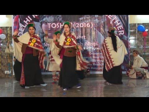 Toshim new  Kinnauri dance Negi's Get To Gether (delhi) 2016 || 2015 || 2014 collection