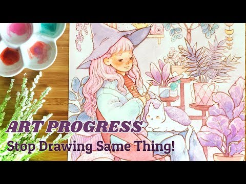 """PROGRESS IN ART ♥︎ Do I NEED to change? 