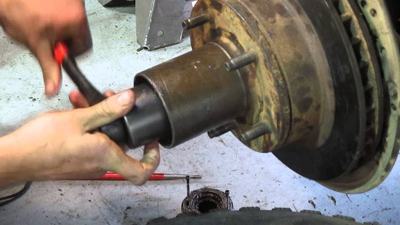 4x4 ratchet Nut adjustment