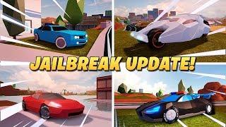 Roblox Jailbreak Update info!| Tires Customizing + NEW Garage Category! Update Tonight 😄💥